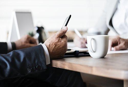 咖啡, 表, 笔记本电脑, 办公室, 计算机, 美国, 分析, 头脑风暴, 业务